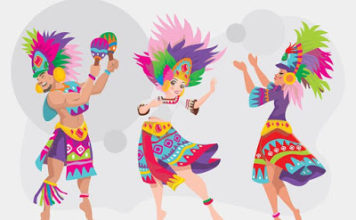 Cultural coexistence-colors of culture