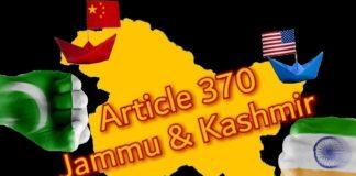 Jammu and Kashmir Article 370